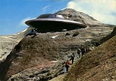Aliens in Vintage Postcards by Franco Brambilla love it! #ecrafty