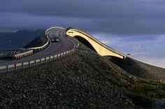 The Atlantic Road, Norway - Wolfgang Kaehler/LightRocket via Getty Images -one of 8 bridges on this road