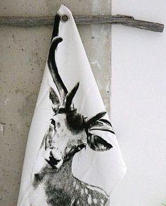 Kuchyňská utěrka Deer 55x80 | Nordic Day