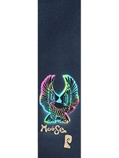 "Riley Hawk Moüse Skateboard Grip Tape Sheet MOUSE x PSOCKADELIC 9"" x 33"" BUBBLE FREE ❤ Moüse Movement"