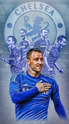 Nice artwork of Chelsea captain & legend John Terry. Best Football Team, Football Gif, Chelsea Football, Football Videos, Football Pictures, College Football, Chelsea Champions, Chelsea Fc Wallpaper, Chelsea Players