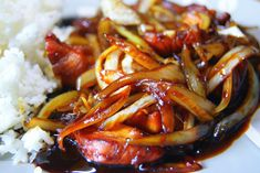 Kielbasa, Wok, Bon Appetit, Stew, Cake Recipes, Food And Drink, Cooking Recipes, Tasty, Meals