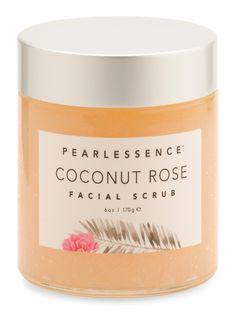 Pearlessence Coconut Rose Facial Scrub