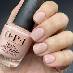 """""""Bubble Bath"""" by @opi is just one of their most classic shades and it looks awesome on everyone! 🥰😍 . I have been sent this as PR but also…"""" • Jan 18, 2021 at 10:02pm UT Opi, Bubble Bath, Bubbles, Nail Polish, Shades, Instagram, Nails, Awesome, Classic"""