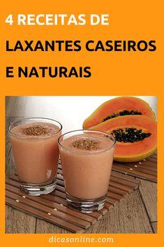 Laxantes Naturais - Os melhores e como usar