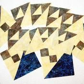 Mystery Quilt 2013 Clue #5 - via @Craftsy