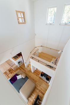 ナチュラルで開放的*スキップフロアでゆっくりくつろげるお家 | 注文住宅 家 広島 工務店 オールハウス