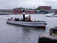 """Mayfower"", steam Tug, built in Bristol by GK Stothert and worked from Gloucester Docks. Now based in Bristol as a maritime working exhibit"
