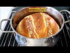 Cayenne Peppers, Arabic Food, Turkish Recipes, Food And Drink, Stuffed Peppers, Youtube, Cooking, Pineapple, Bread
