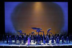 Iolanta. Teatro Real, Madrid. Scenic design by George Tsypin. Pictorial realizations by Rinaldo Rinaldi and Maria Grazia Cervetti. 2012