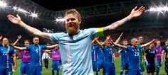 The Iceland team's distinctive connection with fans during the 2016 UEFA European Championships—epitomised by their Viking Clap—was transformed by viral online video sharing into an iconic statement of survival against the odds, that has warmed the cockles of the hearts of committed and casual soccer lovers in all corners of the globe.