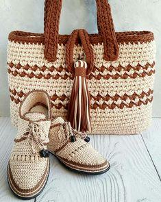 Crochet Boots Pattern, Free Crochet Bag, Baby Cardigan Knitting Pattern, Shoe Pattern, Crochet Shoes, Easy Crochet Patterns, Crochet Stitches, Hand Knitting, Knit Crochet