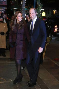 December 7, 2014 - The Duke and Duchess of Cambridge arriving in New York.