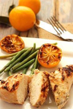 Lemon Garlic & Rosemary Marinade Craving Something Healthy