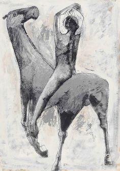 Marino Marini - Cavallo e cavaliere, 1953   Flickr - Photo Sharing!