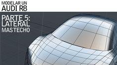 Modelando un AUDI R8: COMPLETANDO EL TECHO