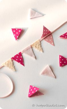 Bunting Cake Banner - or anywhere you want to decorate!