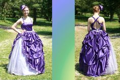 My homemade prom dress!!