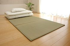 Shop a great selection of FULI Japanese Traditional Igusa (Rush Grass) Tatami Mattress, Twin XL. Made Japan. Find new offer and Similar products for FULI Japanese Traditional Igusa (Rush Grass) Tatami Mattress, Twin XL. Made Japan. Bedroom Layouts, Bedroom Themes, Bedroom Ideas, Bedroom Setup, Japanese Sleeping Mat, Tatami Futon, Japanese Futon Mattress, Japanese Style Bedroom, Sleep On The Floor