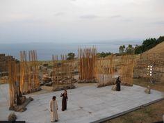 Tindari Greek theater performance of The Trojan Women