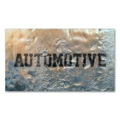 Cool Frozen Ice Automotive Business Card. I love this design! It is available for customization or ready to buy as is. All you need is to add your business info to this template then place the order. It will ship within 24 hours. Just click the image to make your own!
