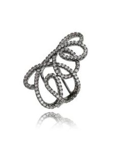 brinco piercing falso com zirconias cristais e banho de rodio semi joias da  moda   Blog Waufen Semi Joias   Pinterest   Piercing falso, ... 2e8d542ac9