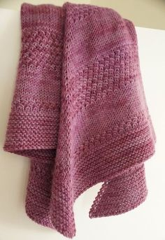 We Like Knitting: Textured shawl - Free Pattern