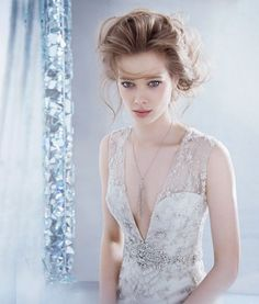 Lazaro Fall 2014 Bridal Collection   bellethemagazine.com