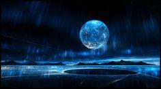 ANDORIN. Landing on a blue continent. by YuryKyssa.deviantart.com on @DeviantArt