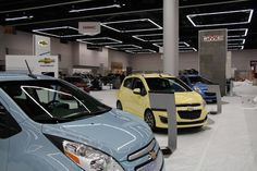 Portland Intl Auto Show Feb. 6-9, 2014 Show moving in.