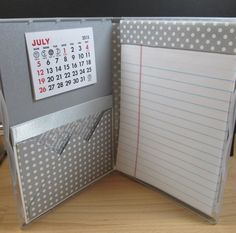 Stamp & Scrap with Frenchie: Clear Case for convention gift