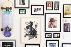 """Inside Designer Irene Neuwirth's Luxe Venice Beach Home #refinery29  http://www.refinery29.com/one-kings-lane/9#slide-6  A Personal Approach To CollectingIrene's mother's paintings, one of which is pictured front and center here, were the """"starting point"""" for her art collection — she loves living with their warm, wild feeling of movement. From there, she hunted down paintings by friends, old family photographs, and pieces from up-and-coming L.A. artists, and put them up all over. Rather than…"""