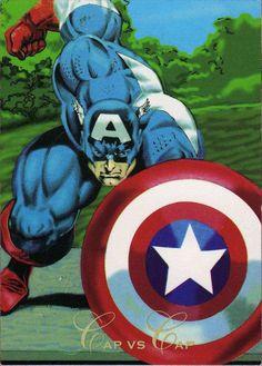 Capitán América-Pepsi Cards