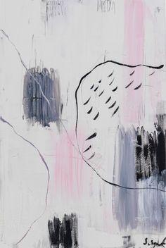 """Obraz na płótnie """"Sketch on blush"""""""