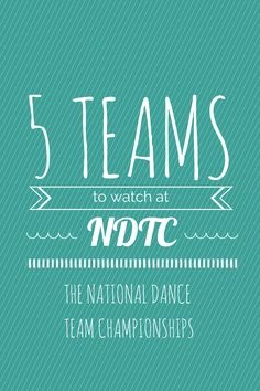 """So, as the views of my """"5 Teams to Watch at UDA Collegiate Nationals"""" post piled up to the hundreds—nay, thousands—it appears to me that people seem to like my crazy little dance team post almost a..."""