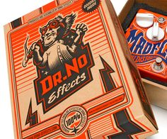 DrNo Effects on Behance