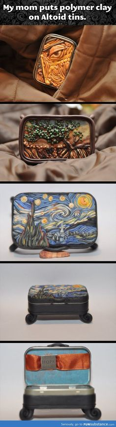 Awesome polymer clay creations…
