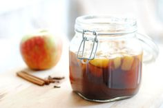 Winter Gift Recipe: Apple Spice Bourbon Infusion - had this at a party and it was amazing!
