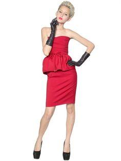 DSquared Capsule Stretch Wool Cady Dress sur shopstyle.fr