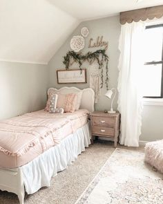 10 Toddler Girl Room Themes will show you 10 great ideas for your little lady's big girl room. Big Girl Bedrooms, Little Girl Rooms, Girls Bedroom, Little Girls Room Decorating Ideas Toddler, Girl Toddler Bedroom, Toddler And Baby Room, Toddler Themes, Boys Bedroom Furniture, Bedroom Decor