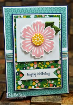 The Stamping Blok: Stamp Review Crew: Mixed Bunch Edition  love the leaves out of ribbon.