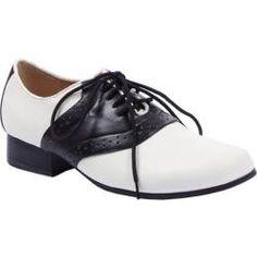 Women's Ellie Saddle-105 Black/White - Suzy Bishop