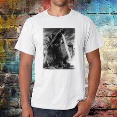 Godzilla Tshirt movie tee classic movies shirt monster