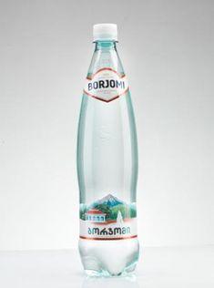 У истоков Borjomi Agua Mineral, Mineral Water, Water Shape, Water Packaging, Water Bottle Design, Pet Bottle, Packaging Design, Cleaning Supplies, Bottled Water