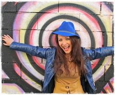 Hat / Chapeau: Mademoiselle Slassi (Paris). Street art & urban hats !