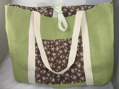 Placemat bag from Crafts on a Whim