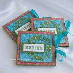 Конверт для диска со свадьбой Ивана и Марии  #card #scrapbooking #postcard #scrap