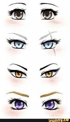 Manga Drawing Tips ruby, rwby, blake, yang, weiss - Drawing Techniques, Drawing Tips, Drawing Reference, Drawing Sketches, Art Drawings, Drawing Drawing, Animae Drawings, Drawings Of Eyes, Drawing Ideas