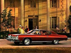 Chevrolet Caprice Custom Coupe (1973).