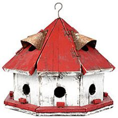 birdhouse red - Google Search